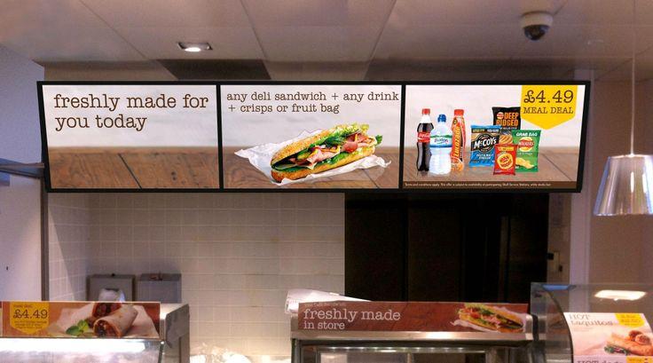 Amscreen launches digital menu board solution