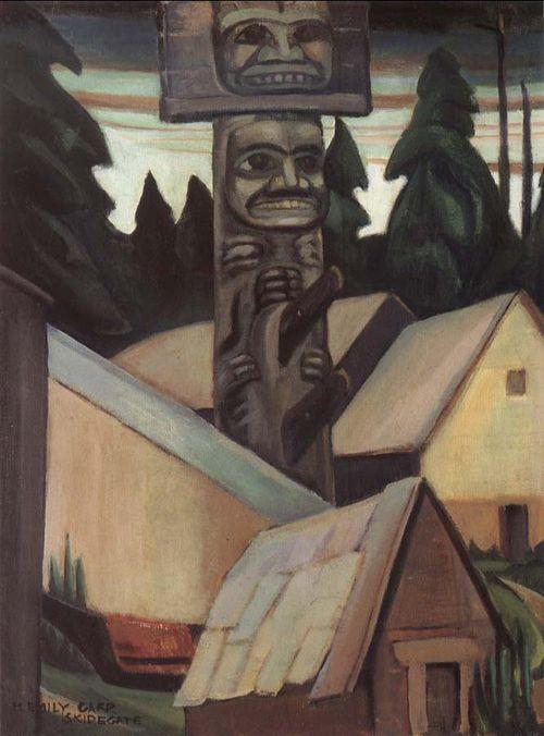 SKIDEGATE--1928--EMILY CARR