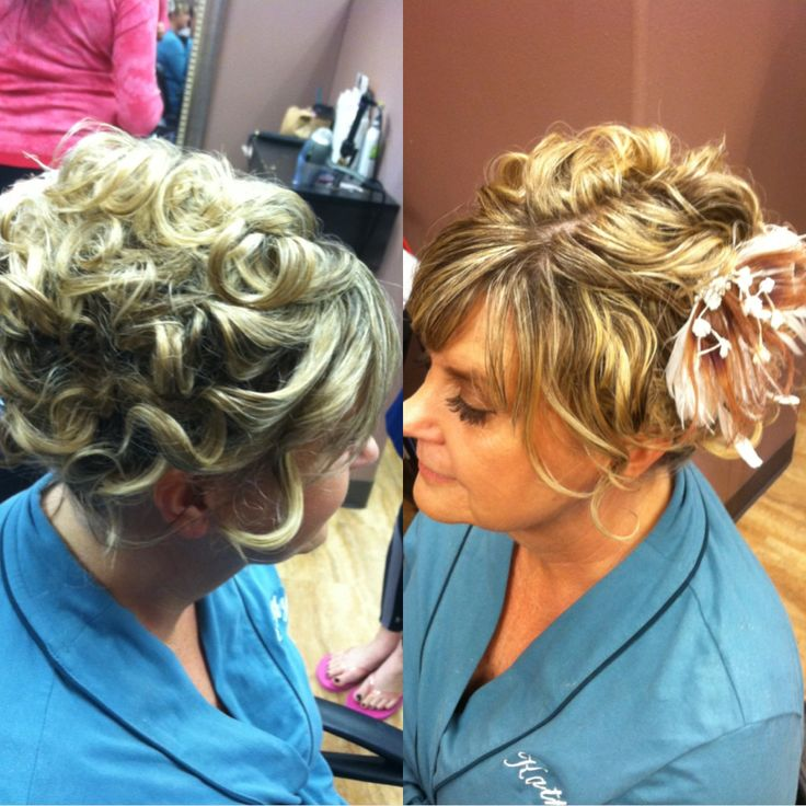 Mother of the bride hair by Betsy at Avanti salon.  Lovely!