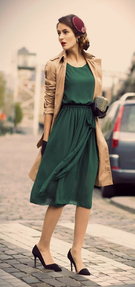 Best 25 Modern Vintage Fashion Ideas On Pinterest 40s