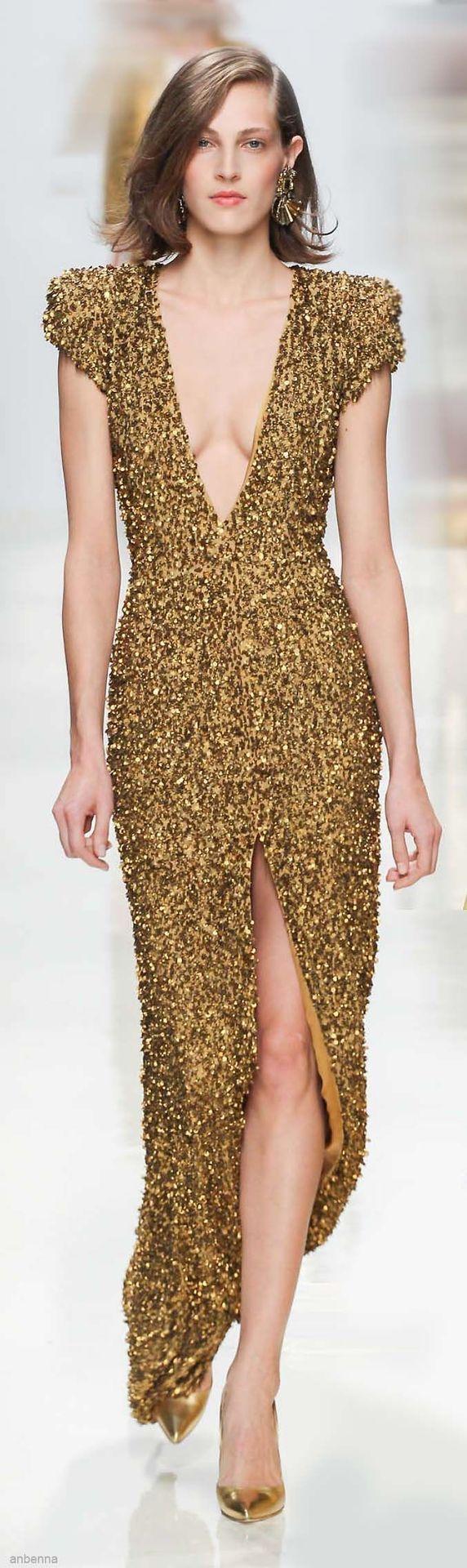 44 best Sequin Dresses images on Pinterest   Gold sequins, Gold ...