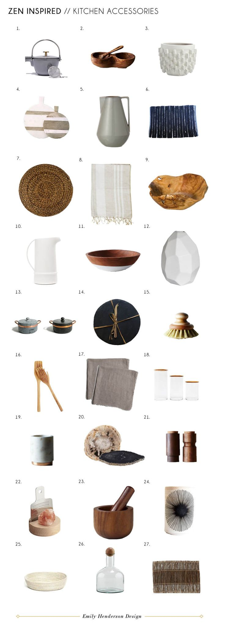 Kitchen Accessories: Zen