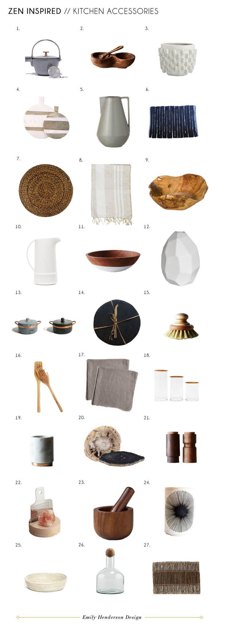 Kitchen Accessories: Zen