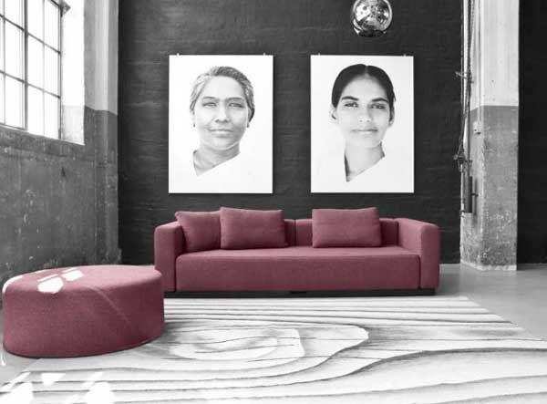 Lækkert sofa i et flot design fra Softline. #indretning #softline #design