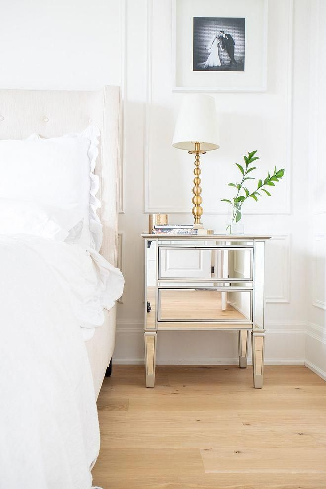 Mirrored Nightstand Timeless way to decorate a bedroom ...