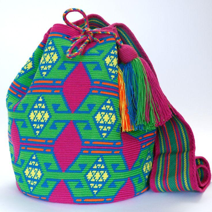 Hermosa Mochila Bag | Handmade Wayuu Bags | Bolsos Wayuu ...