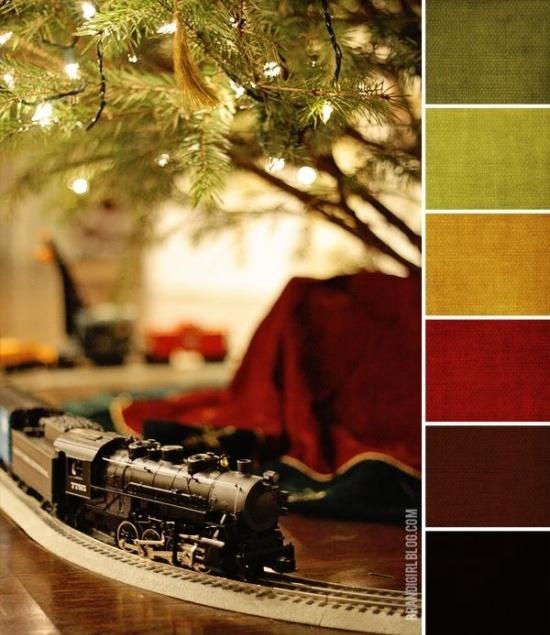 Holiday Color Palettes   ... colour palettes / Brandi Girl: Color Palette #92 :: Christmas Medley