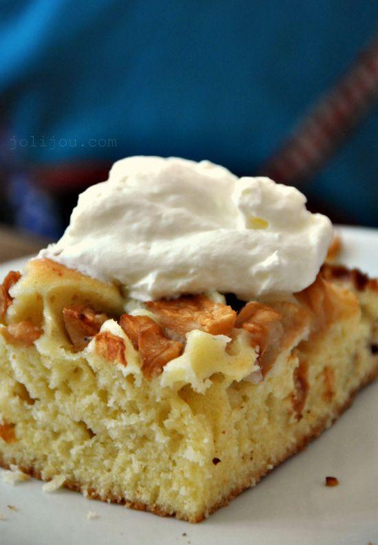 Apfelkuchen - saulecker und superschnell gemacht!