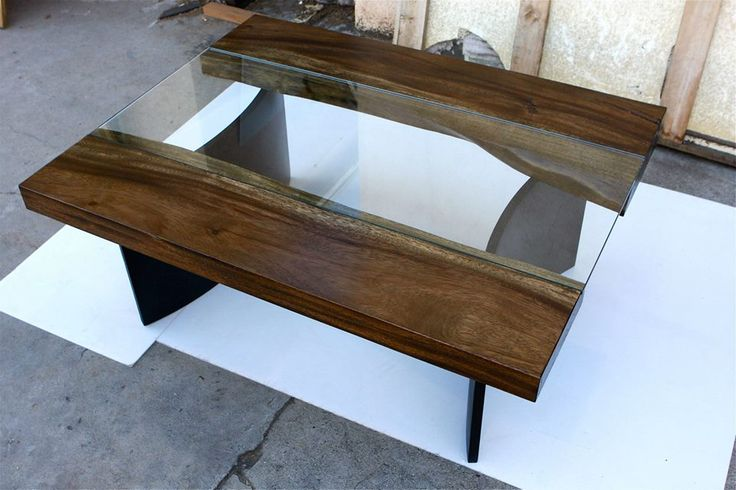 Neat Wood And Glass Table Dining Room Pinterest