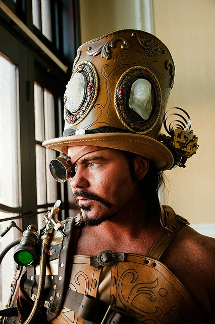 capricious steampunk bookends. Great steampunk hat  think this is the guy I have on my FB photos who 42 best BC images Pinterest Medieval armor Ancient art and