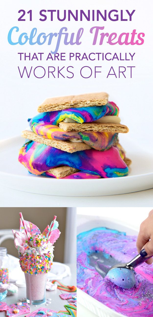21 Stunningly Colorful Treats That Are Practically Works of Art