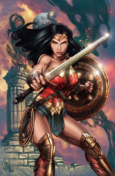 Wonder Woman by Mike Lilly & Ivan Nunes