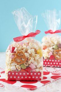 Sport Relief Popcorn Snack Bags - My Fussy Eater