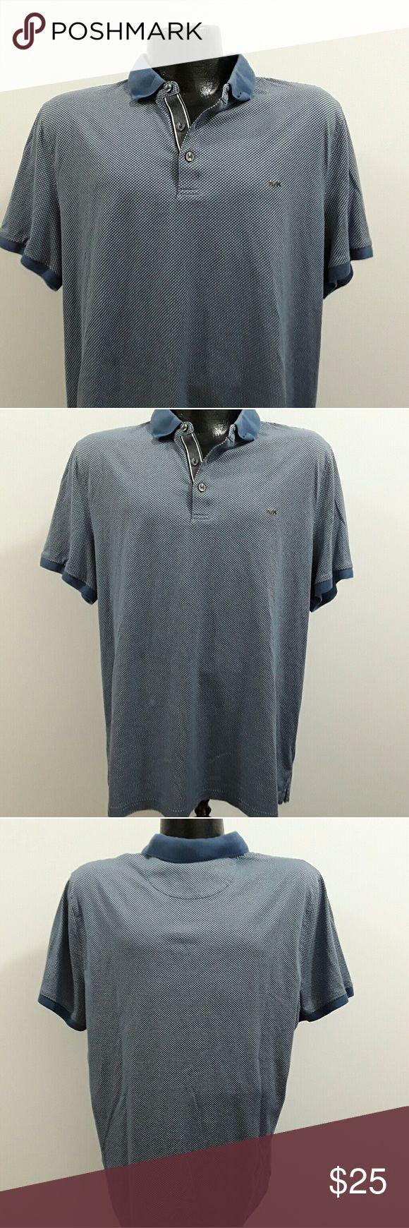 Michael Kors polo shirt men short sleeve cotton Cotton polo size XL. Non smoking house. Very nice polo. No hols.  No spots. Michael Kors Shirts Polos