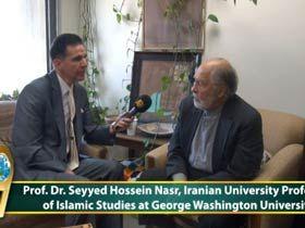 Prof. Dr. Seyid Hüseyin Nasr, George Washington Üniversitesi'nde İslami Araştırmalar Profesörü, ABD Video
