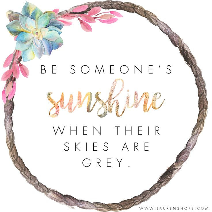 Be someone's sunshine! #quotes #inspiration #motivation