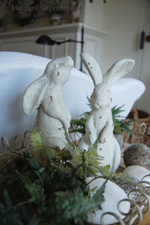 Chippy Rabbit Statues