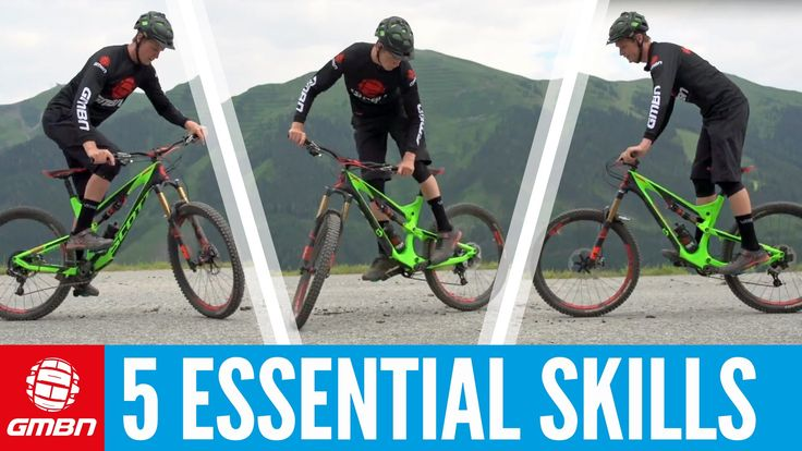 Five Essential Skills To Master On Your Mountain Bike - VIDEO - http://mountain-bike-review.net/mountain-bikes/five-essential-skills-to-master-on-your-mountain-bike-video/ #mountainbike #mountain biking