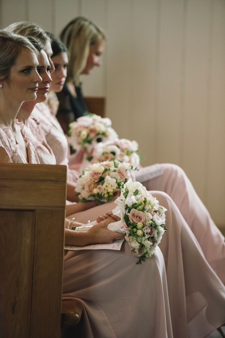 Blush Bridesmaids by Amber Whitecliffe