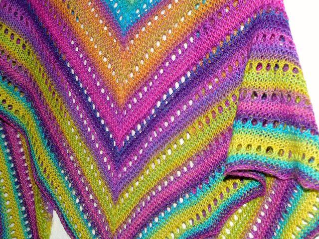 Unilintu huivi/shawl
