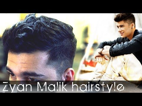 Zayn Malik Hairstyle | Men's Hair Tutorial | Slikhaar TV featuring ...