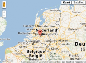 Locatie van het DPO 2013 Waar ligt Drunen?  Je kant het hier bekijken. #Pinball, #Flipperen