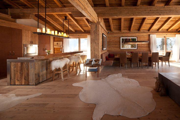 Edle Immobilie in Kitzbühel kaufen Wohnen Pinterest - einrichtungsideen mobel chalet stil