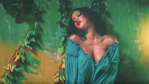 """Watch the Steamy Music Video for Rihanna and DJ Khaled's New Single """"Wild Thoughts"""""""