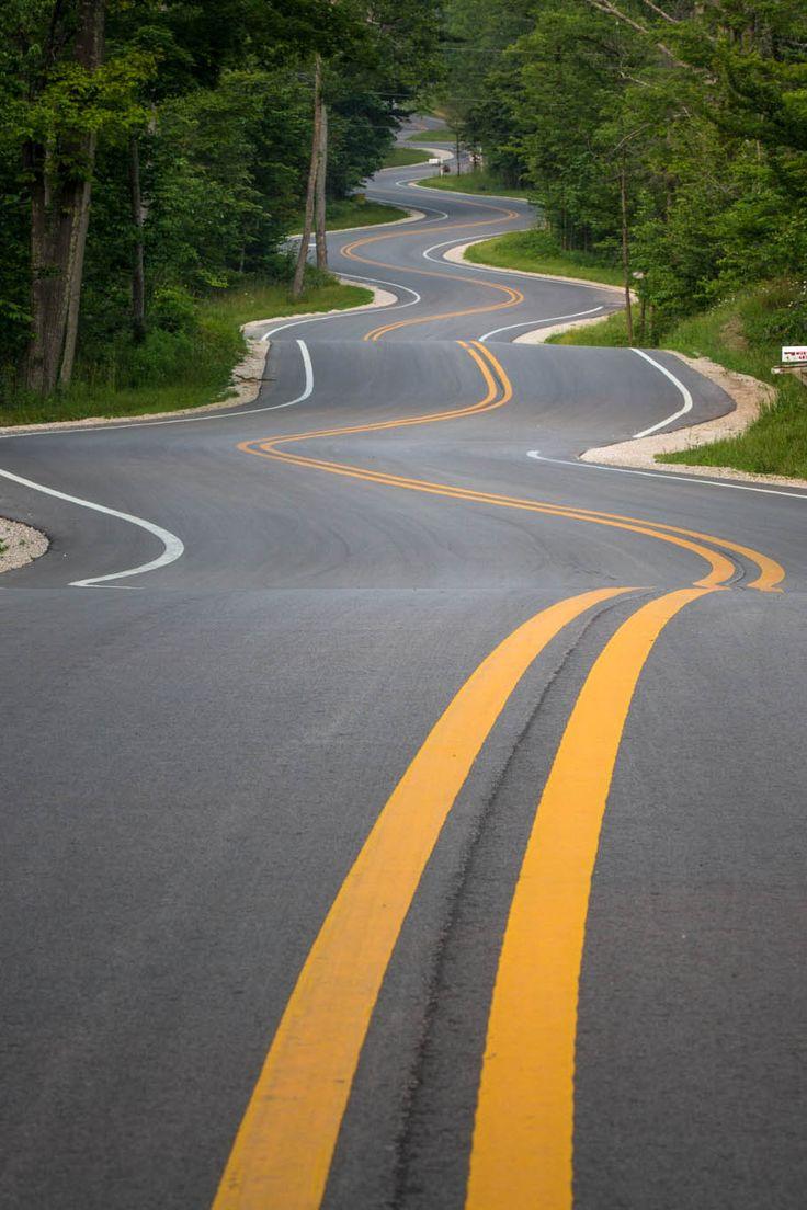 Roads Like These   Wisconsin Highway 42.                                                                                                                                                                                 Más