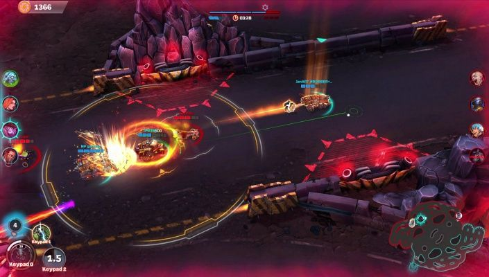 Heavy Metal Machines is a Free Online, Combat Arena, Car battle death-match, Multiplayer Game featuring merciless explosions, weapons beyond imagination, and an endless set of customization