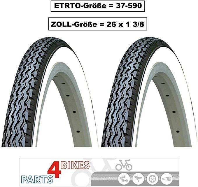 P4b 2x 26 Zoll Fahrrad Reifen Fur Komfortables Fahrverhalten 26 X 1 3 8 37 590 Fahrrad Man In 2020
