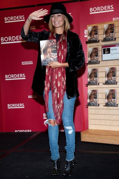 Nicole Richie promotes Priceless