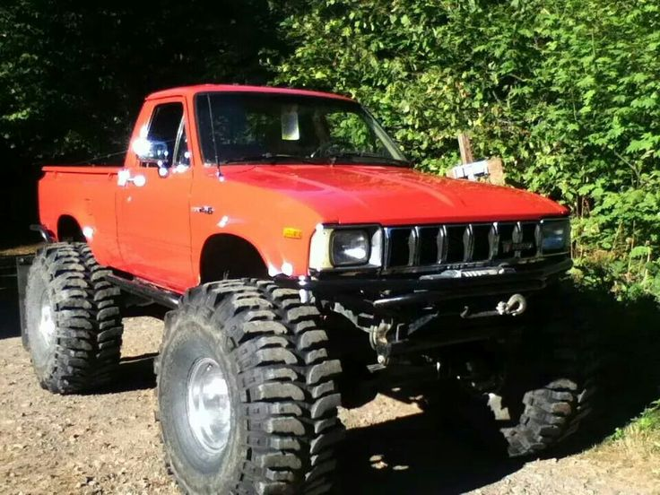 Lifted Toyota Tacoma >> 196 best First Generation Toyota 4x4s images on Pinterest | Toyota trucks, Tacoma world and ...