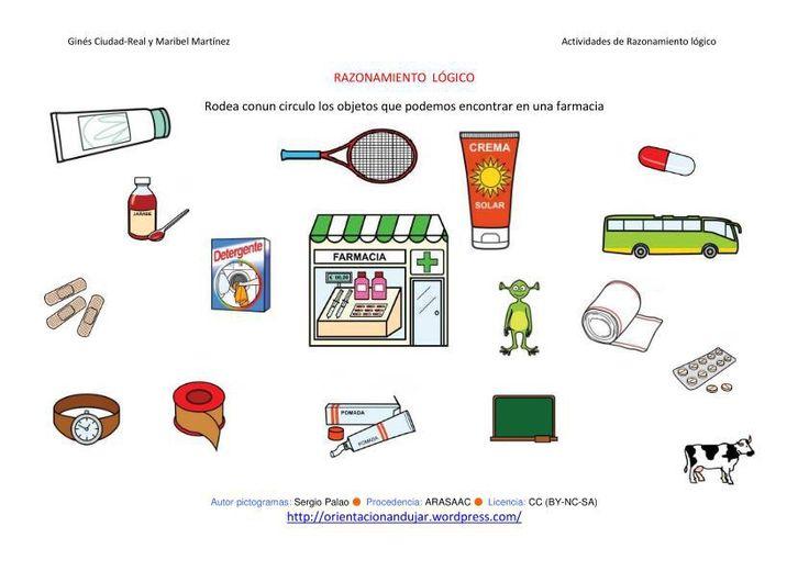 RAZONAMIENTO LÓGICO categorizar y agrupar ficha-21-farmacia