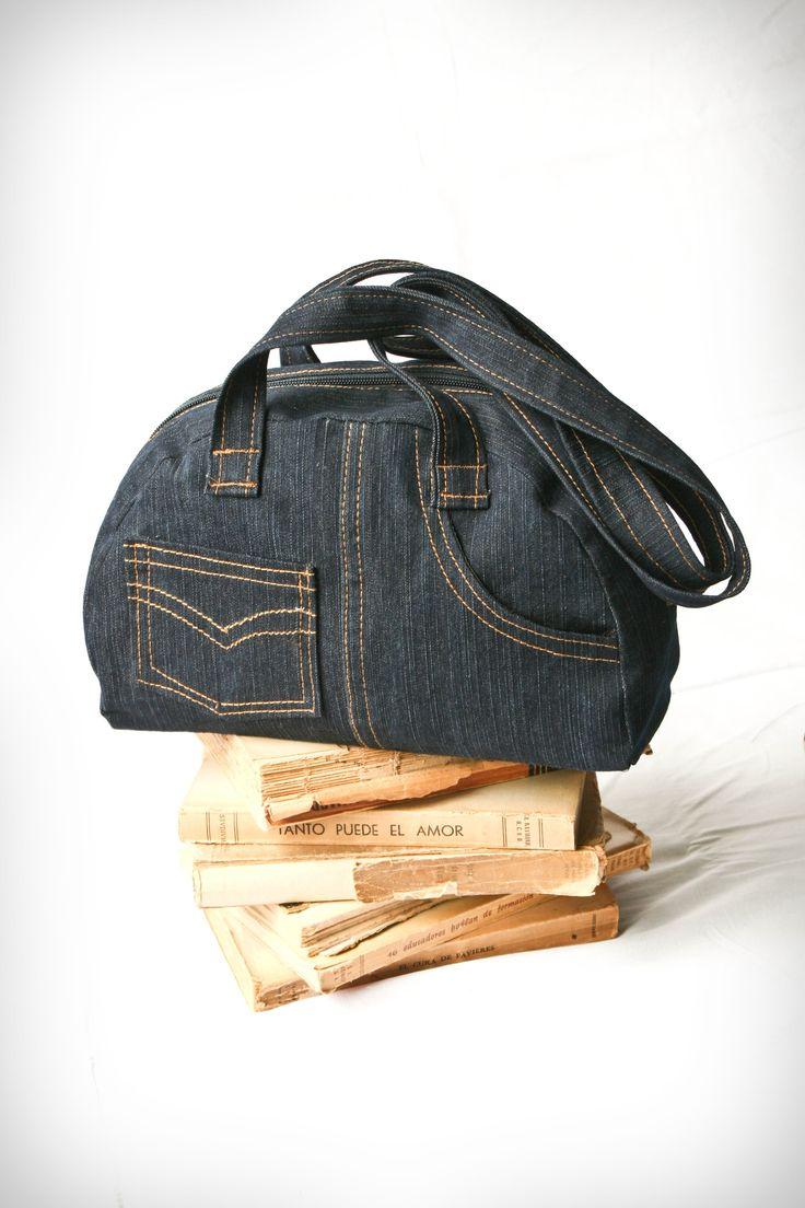 blue jean purse                                                       …