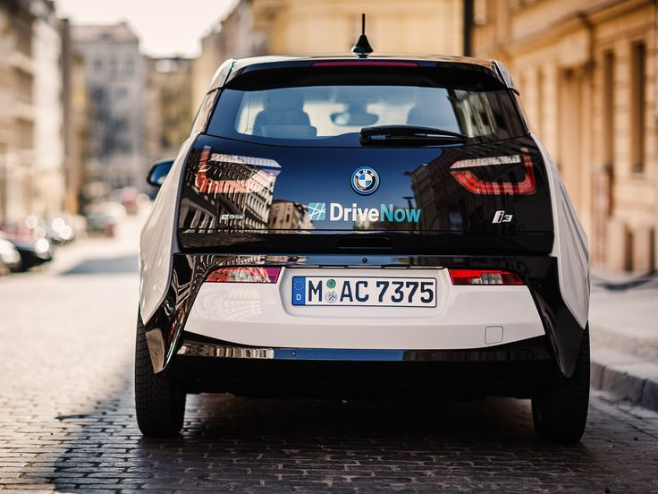 BMW i3 at DriveNow Berlin