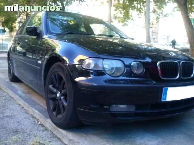 Vendo BMW serie 3  , 320 TD Compact,  a�o 2002, 150 CV, manual, cierre centralizado,  clima, elevalunas el�ctricos, volante multifuncion, xen�n, bluetooth manos libres parrot, asientos calefactables, mantenimiento al d�a,ITV en vigor, coche en muy buen es