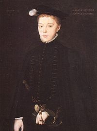 Henry Stuart (or Stewart ), Duke of Albany (7 December 1545 – 10 February 1567), styled as Lord Darnley until 1565, was king consort of Scotland from 1565 until his murder at Kirk o' Field in 1567. Many contemporary narratives describing his life and death refer to him as Lord Darnley , his title as heir apparent to the Earldom of Lennox , and it is by this appellation that he is now generally known. He was the second but eldest surviving son of Matthew Stewart, 4th Earl of Lennox , and h...