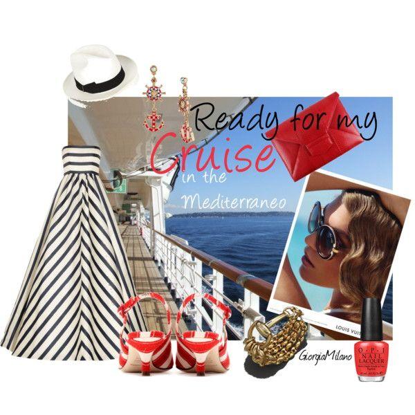 """My Mediterranean Cruise"" by furettina on Polyvore"