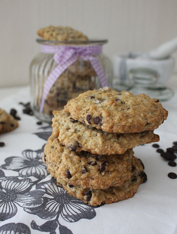 Chocolate Chip Hafer Cookies