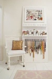 Diy Jewelry Organizer - This Is Fabulous