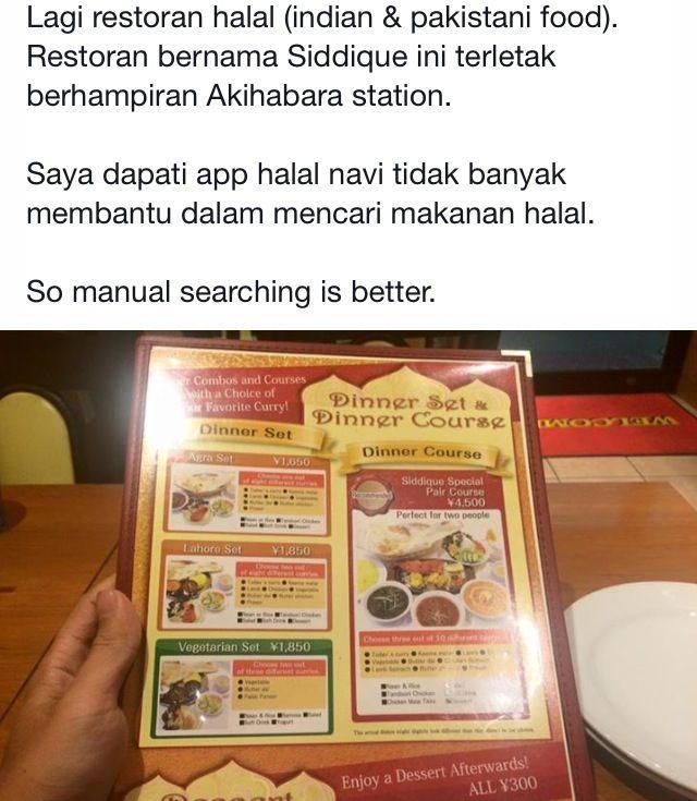 Kedai makan halal Japan