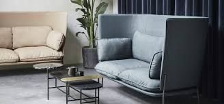 Cloud High Back is a sofa designed by Luca Nichetto for &Tradition - Designed to be spacious and expansive.