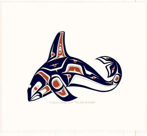 The information on this page describes some of the most common Native American Animal Symbols drawn in the Haida art style. Description from metiponwolk.blog.com. I searched for this on bing.com/images
