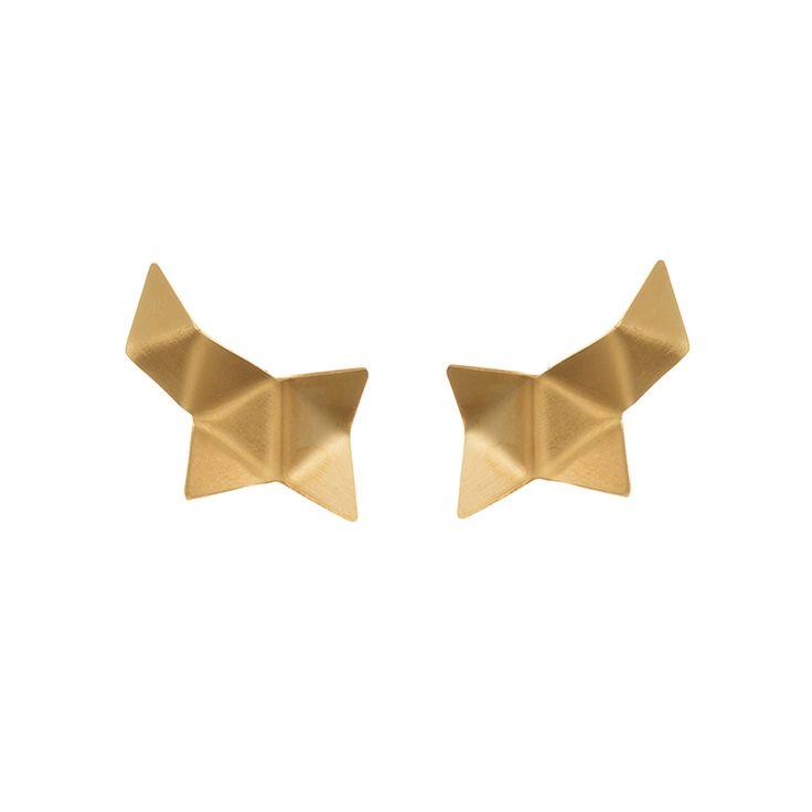 ORIGAMI / EAR / GOLD maleneglintborg.com