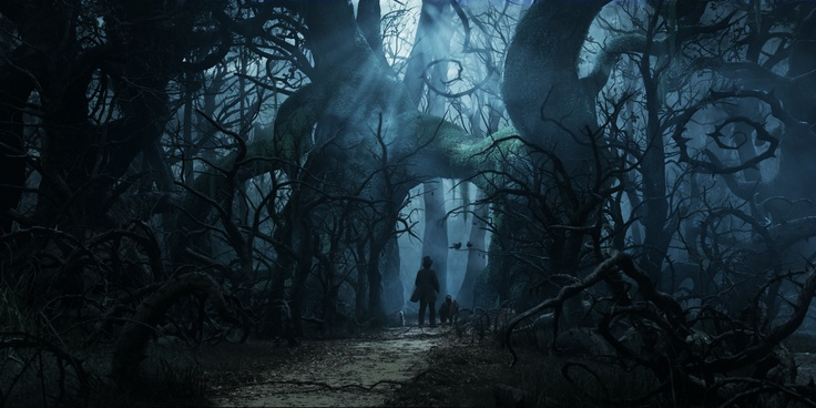 Oz Advice: Never travel to the Dark Forest without a friend.