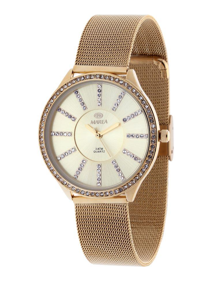 Reloj Marea elegance #madre #reloj #marea #dorado #malla