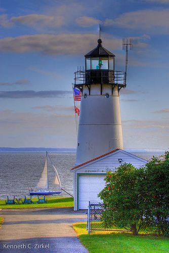 Warwick Neck Light, Rhode Island