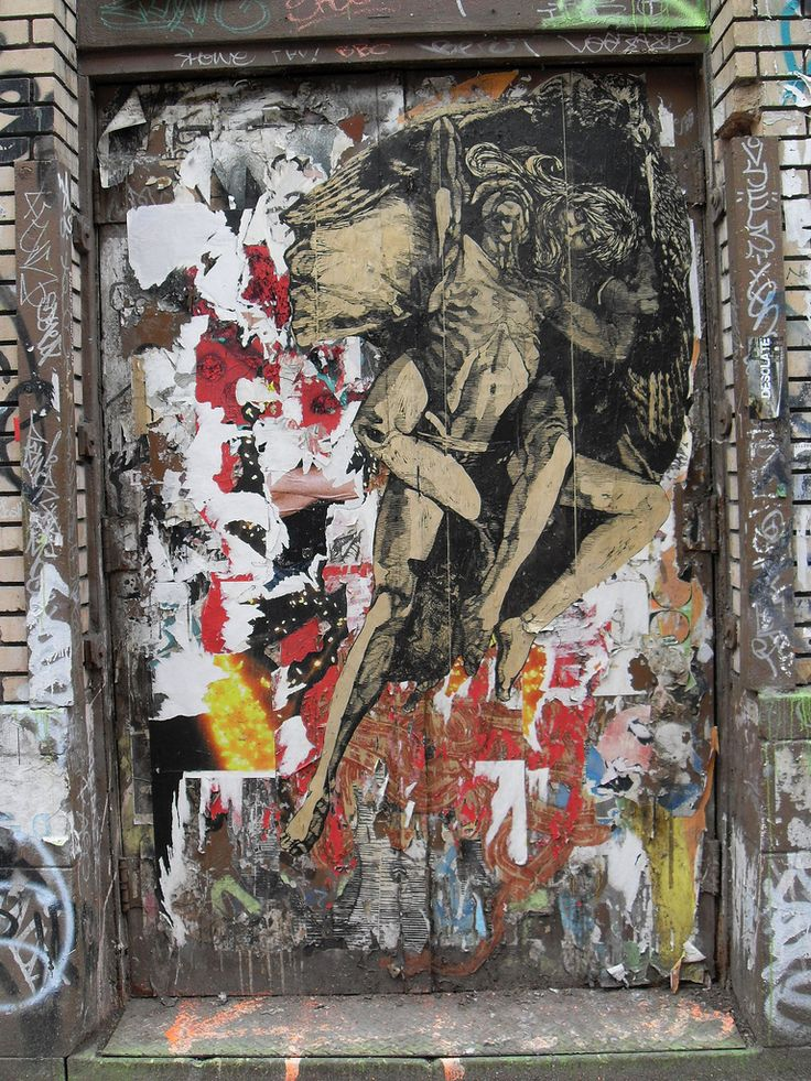 New York City INSTALLATION STREET ART WOOSTER STREET Graffiti NYC Abandoned Building | by Christian Montone