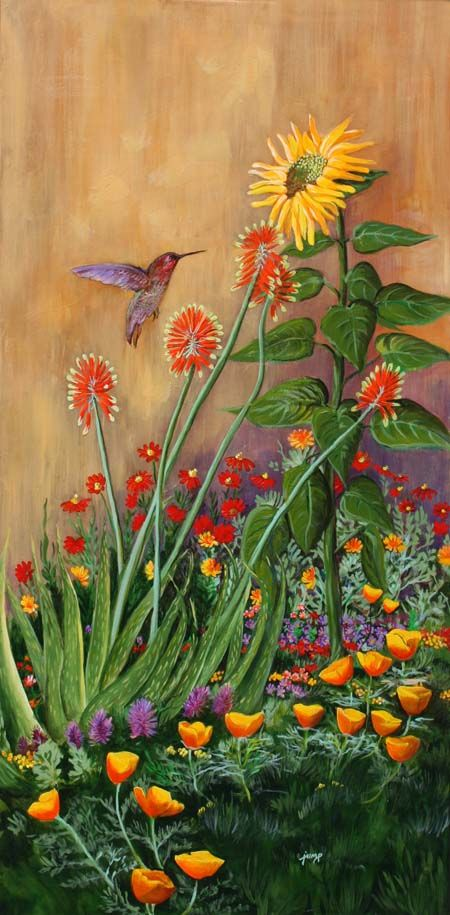 The Sunflower Friend ~ Barbara Ann Spencer Jump